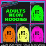 18th BIRTHDAY GIFT  ADULTS TEENAGER ELECTRIC HOODIE HOODY